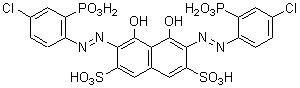 Chlorophosphonazo-III