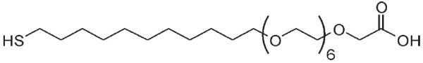 Carboxy-EG6-Undecanethiol